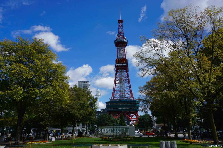Sapporo Japan TV Tower