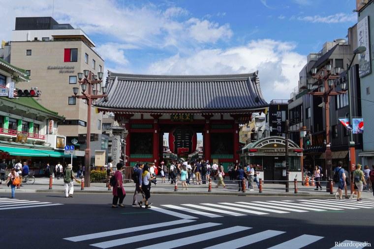 Japan Tokyo Asakusa Kaminarimon