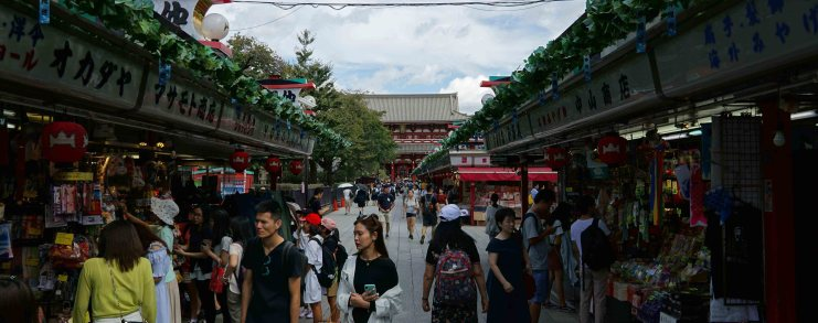 Japan Tokyo Asakusa Nakamise