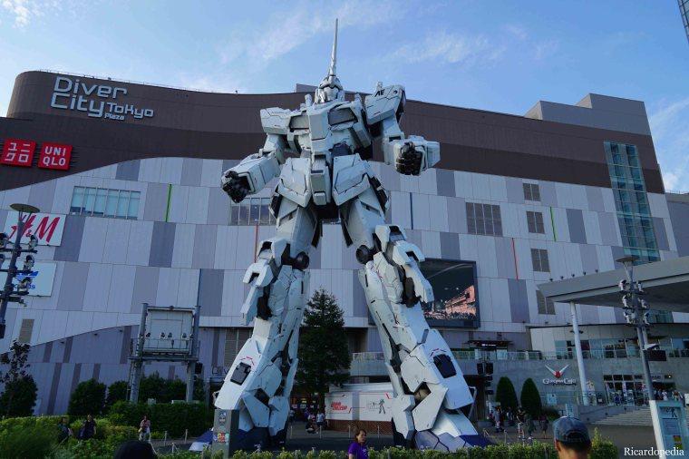 Japan Tokyo Odaiba Island Gundam