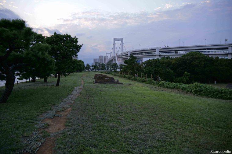 Japan Tokyo Odaiba Daiba Park