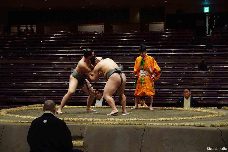 Japan Tokyo Sumo Ryogoku Kokugikan