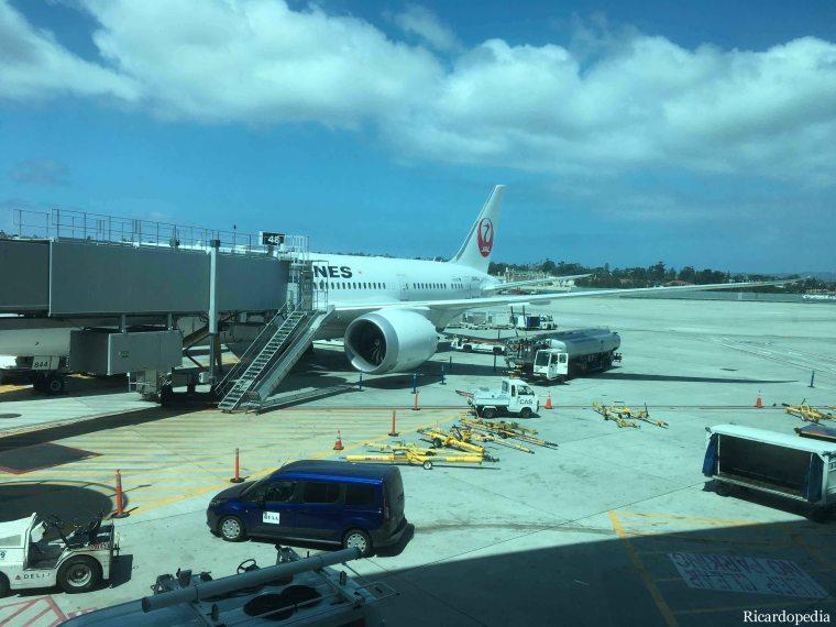 Japan-Korea 2019 Flight to Japan
