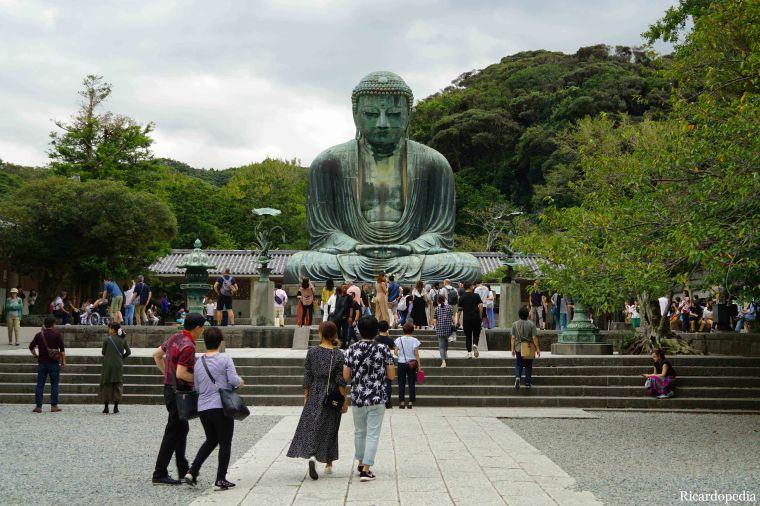 Japan Kamakura Daibutsu Great Buddha