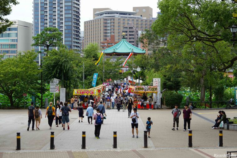 Japan Tokyo Ueno Park