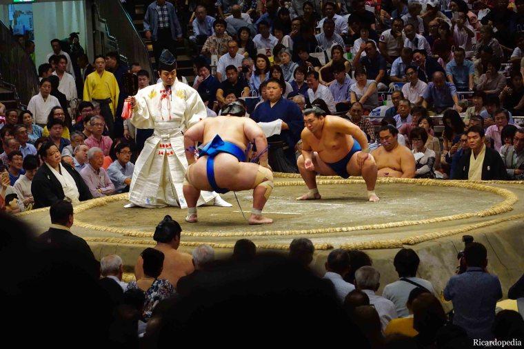 Japan Tokyo Sumo Tournament
