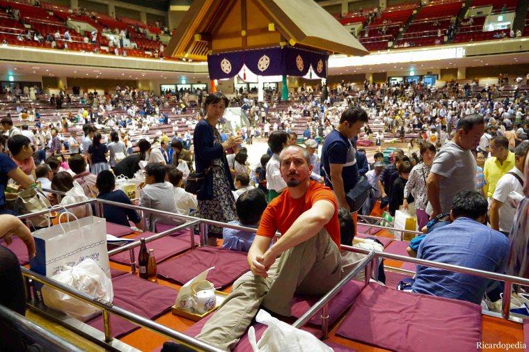 Japan Tokyo Sumo Tournament Ricardo