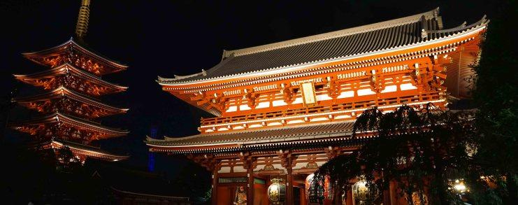Japan Tokyo Asakusa Sensoji Temple