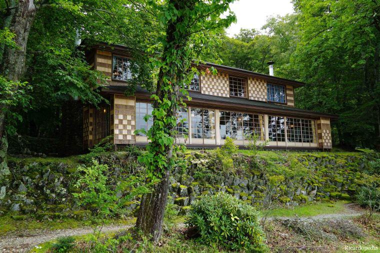 Japan Nikko Lake Chuzenji Italian Embassy Villa
