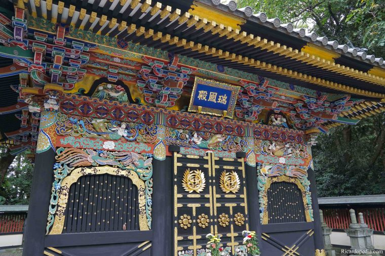 Japan Sendai Zuihoden Mausoleum