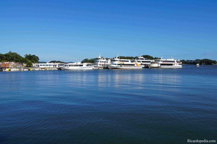 Japan Matsushima Boat Pier