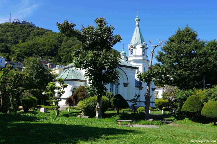 Japan Hakodate Motomachi Orthodox Church