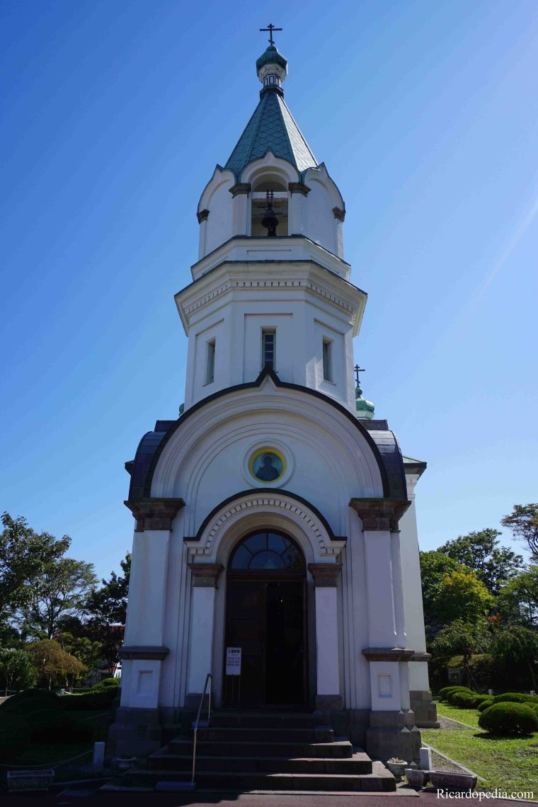 Japan Hakodate Motomachi Orthodox Church