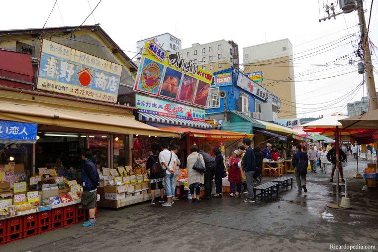 Japan Hakodate Morning Market