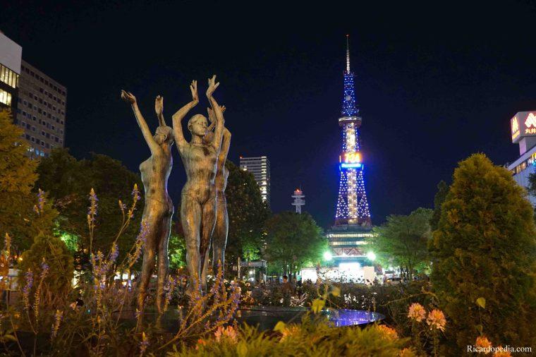 Japan Sapporo Odori Park