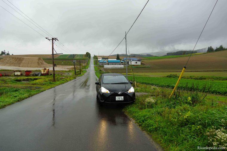 Japan Hokkaido Panorama Road