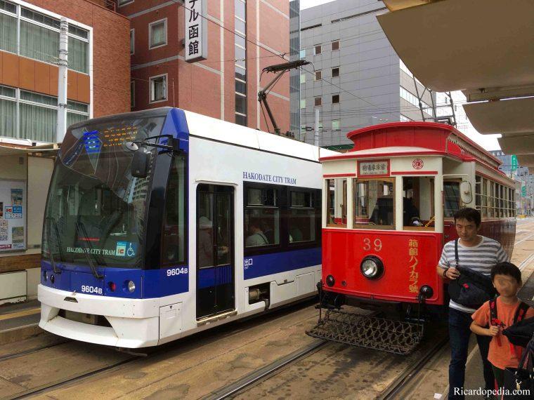 Japan Hakodate Tram