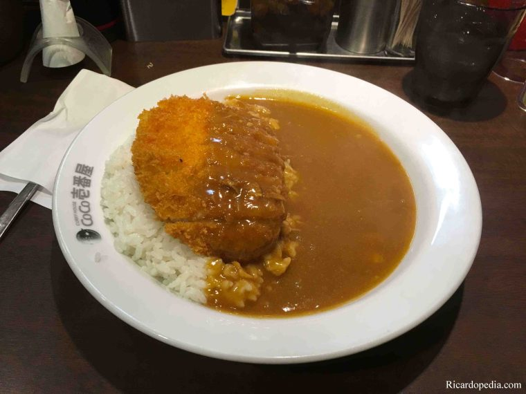 Japan Sapporo CoCo Ichibanya