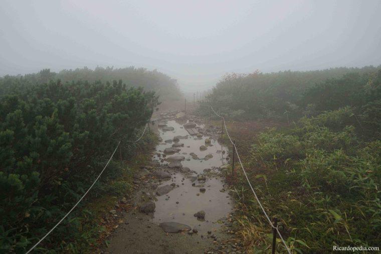 Japan Hokkaido Daisetsuzan Asahidake