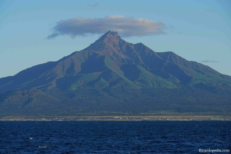 Japan Hokkaido Rebun Island Ferry Rishiri