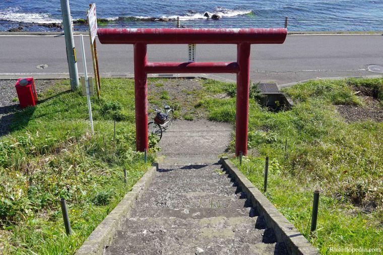 Japan Hokkaido Rebun Island Ichiku Shrine