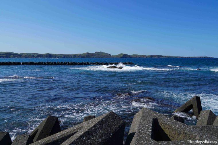 Japan Hokkaido Rebun Island Cape Kanedano