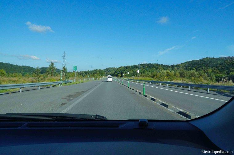 Japan Hokkaido Driving