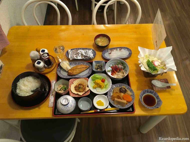 Japan Hokkaido Rebun Island Food