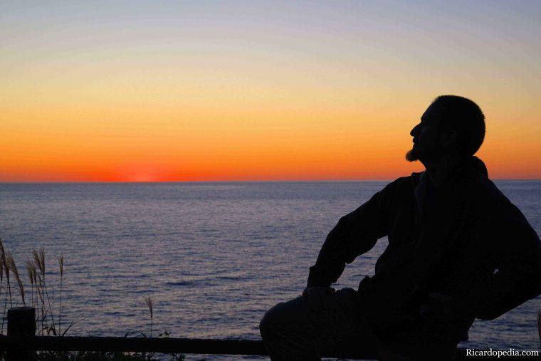Japan Hokkaido Rebun Island Sunset