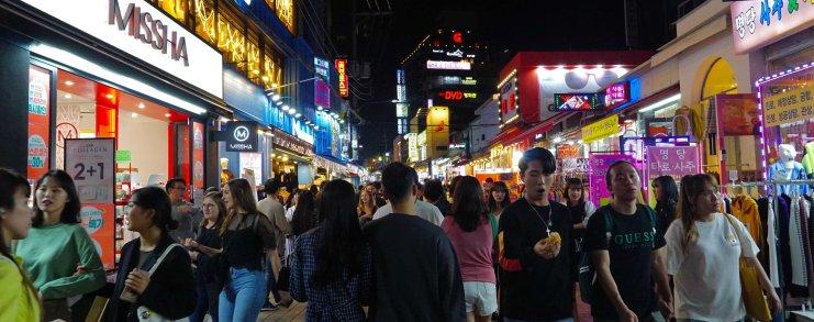 South Korea Seoul Hongdae