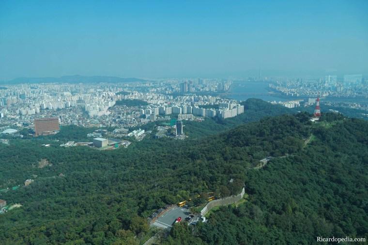 Korea Namsan Seoul Tower