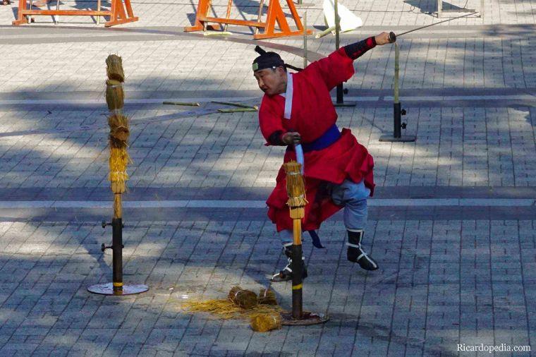 Korea Seoul Martial Arts Performance