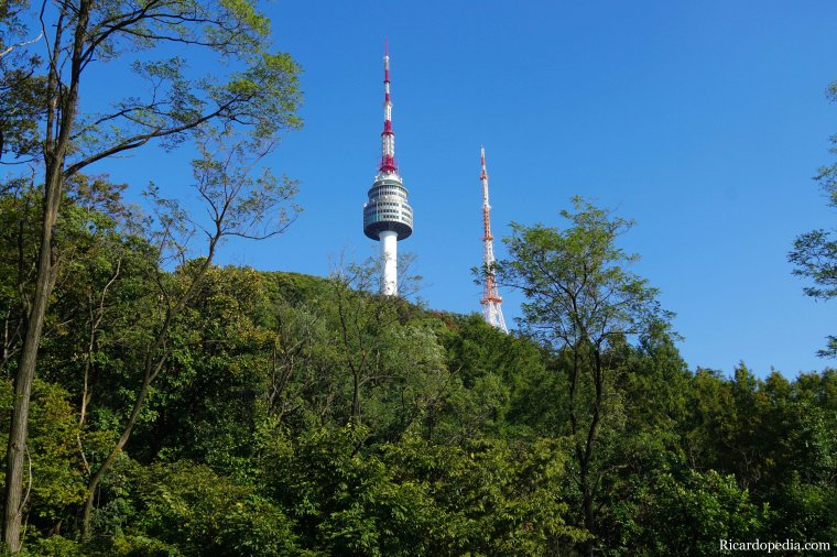 Korea Seoul Tower Mountain