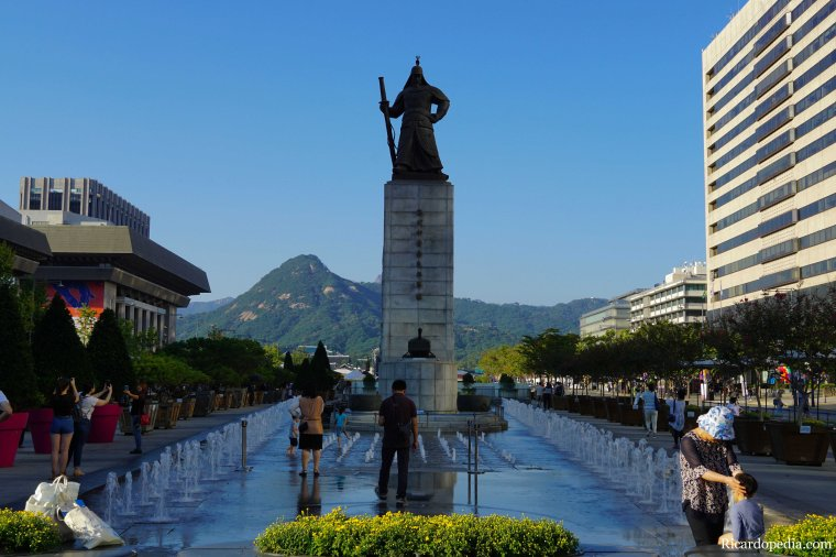 Korea Seoul Gwanghwamun Square