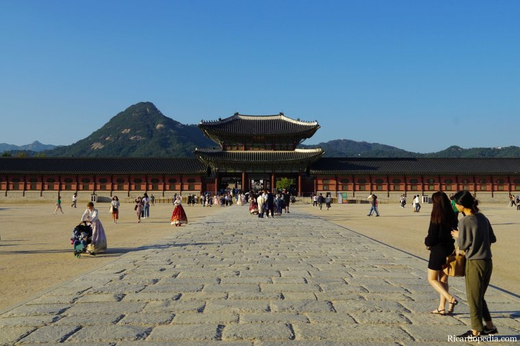 Korea Seoul Gyeongbokgung Palace
