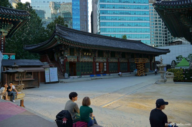 Korea Seoul Jogyesa Temple