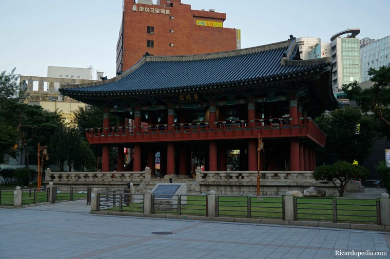 Korea Seoul Bosingak