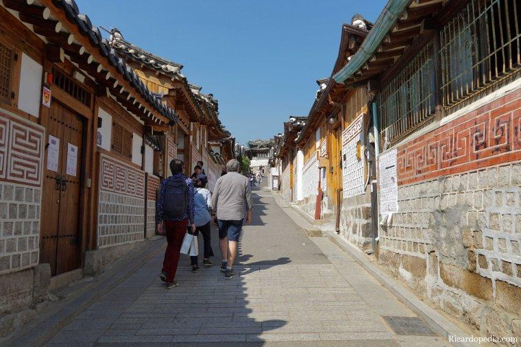 Seoul Korea Bukchon Hanok Village