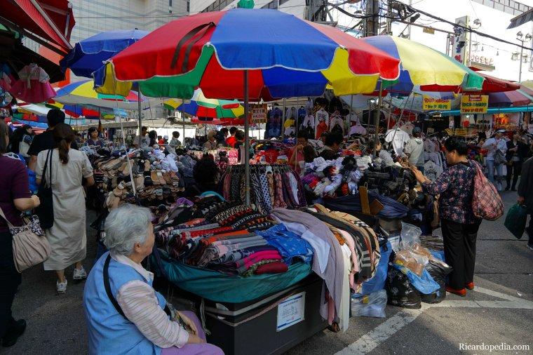Seoul Korea Namdaemun Market
