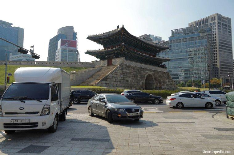 Seoul Korea Sungnyemun Gate
