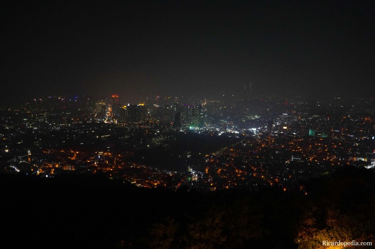 Korea Seoul Tower Night