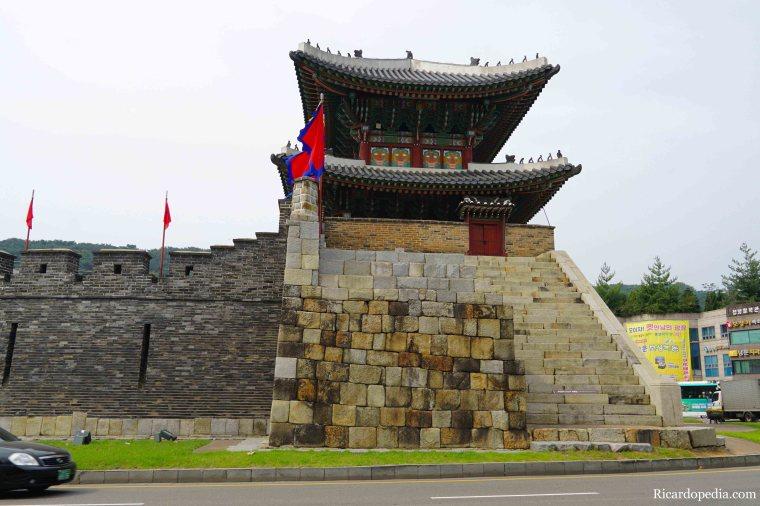 Suwon Korea Paldalmun Gate