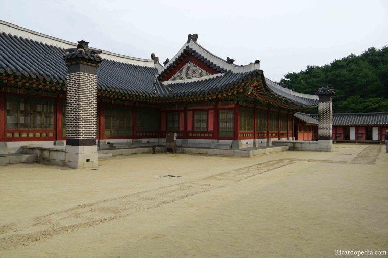 Suwon Korea Haenggung Palace