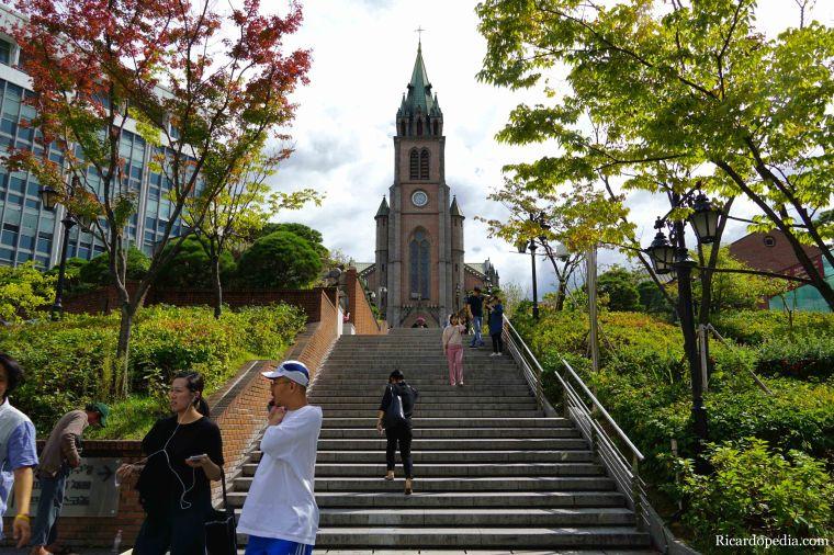 Seoul Korea Myeong-dong Cathedral