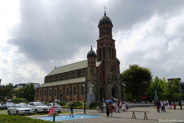 Jeonju Korea Jeondong Cathedral