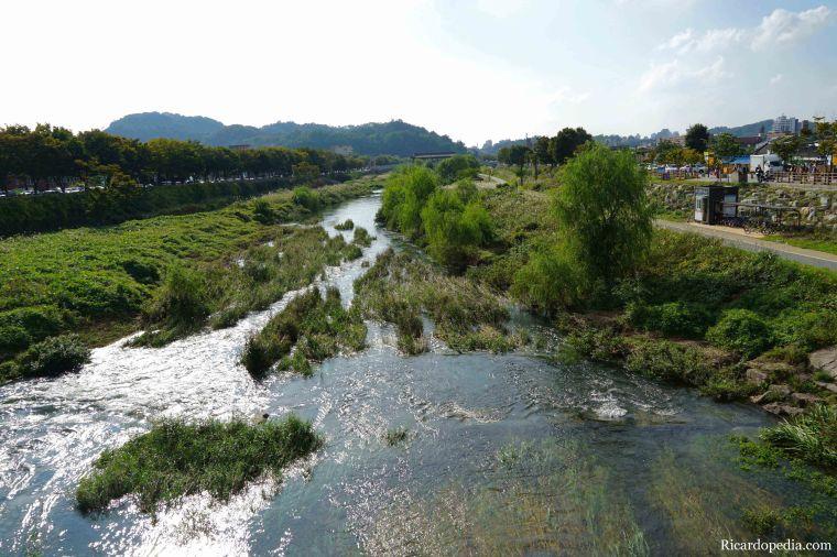Jeonju Korea Jeonjuchun River
