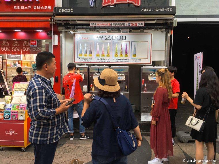 Seoul Korea 32 cm Parfait