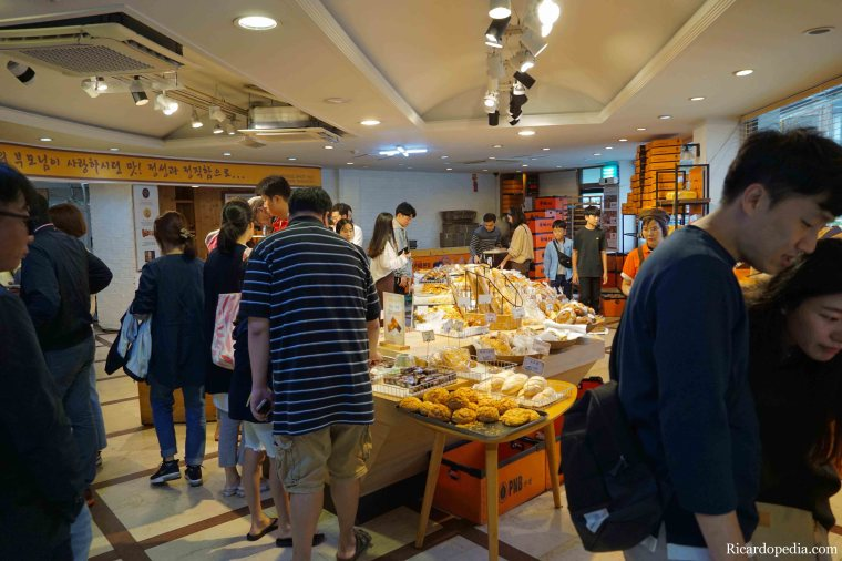Jeonju Korea PNB Bakery