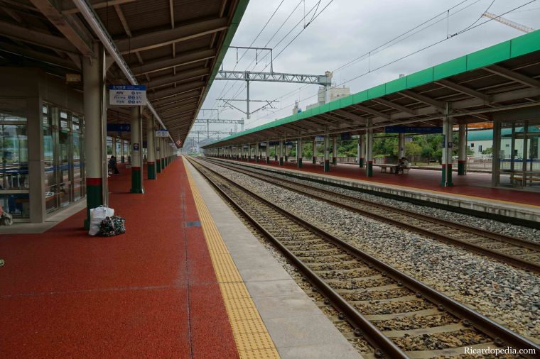 Jeonju Korea Train Station