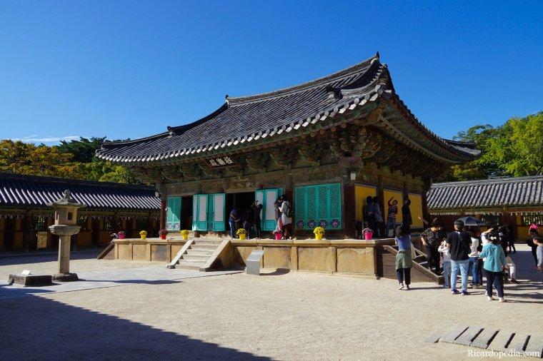 Gyeongju Korea Bulguksa Temple